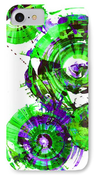 Playing In The Wind 1000.042312 - Popart-2 IPhone Case by Kris Haas