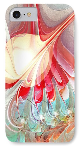 Playing With Colors IPhone Case by Anastasiya Malakhova
