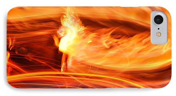 Playing With Fire 14 IPhone Case by Cheryl McClure