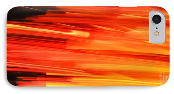Playing With Fire 17 IPhone Case by Cheryl McClure