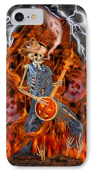 Playing With Fire IPhone Case by Glenn Holbrook