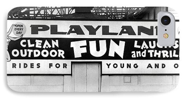 Playland At The Beach IPhone Case