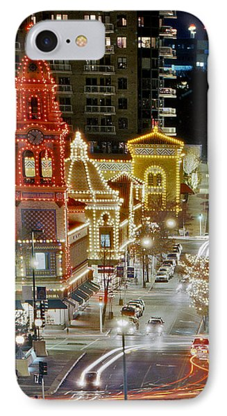 IPhone Case featuring the photograph Plaza-kansas City by Christopher McKenzie