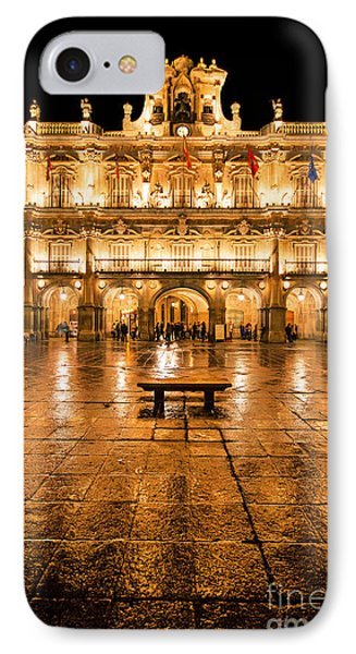 Plaza Mayor In Salamanca IPhone Case by JR Photography