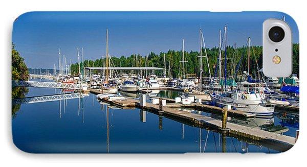 Pleasant Harbor IPhone Case by Mark Bowmer