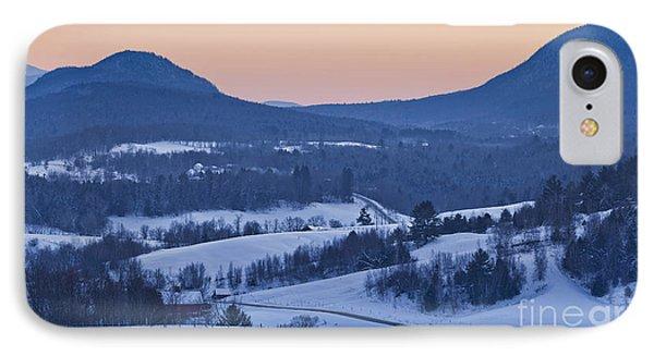 Pleasant Valley Winter Twilight IPhone Case