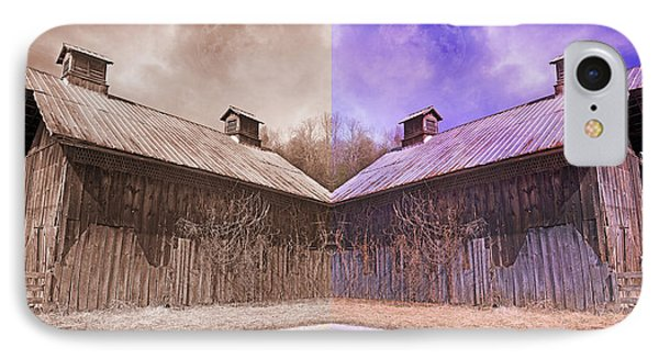 Pleasant View Country Barns IPhone Case