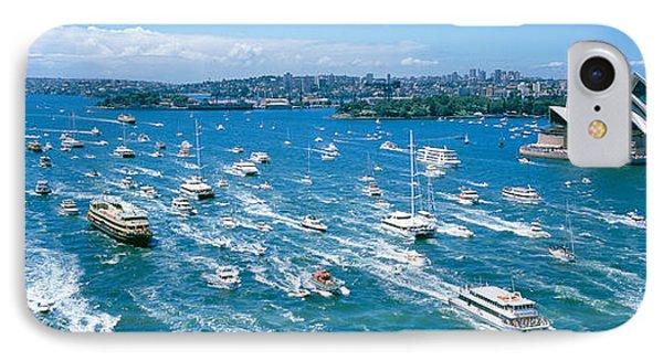 Pleasure Boats, Sydney Harbor, Australia IPhone Case