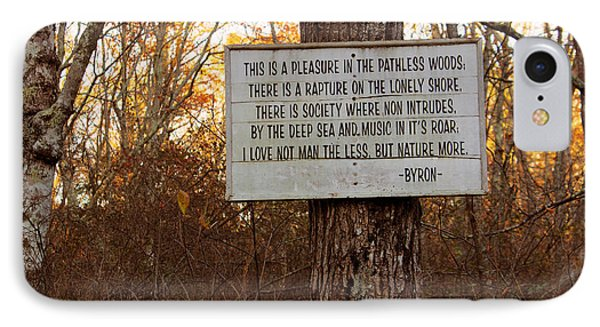 Pleasure In The Pathless Woods IPhone Case