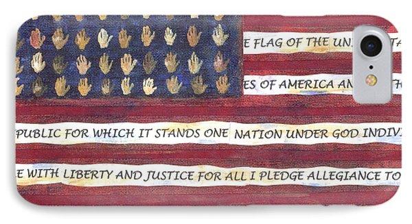 Pledge Flag IPhone Case
