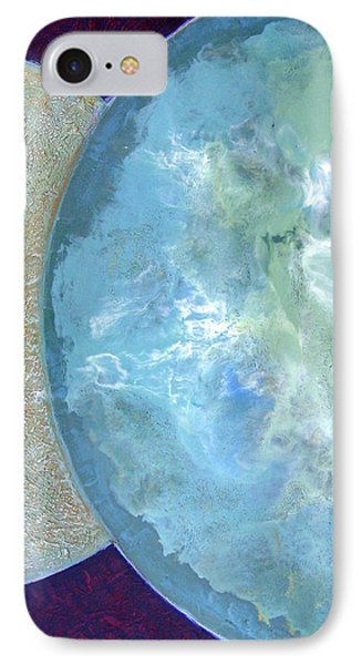 IPhone Case featuring the painting Pleiades Meditation by Carolyn Goodridge