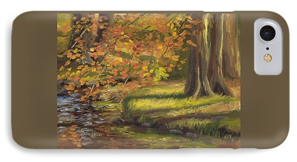 Plein Air - Trees And Stream IPhone Case