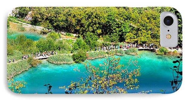 Plitvice Lakes Croatia Phone Case by Julia Fine Art And Photography
