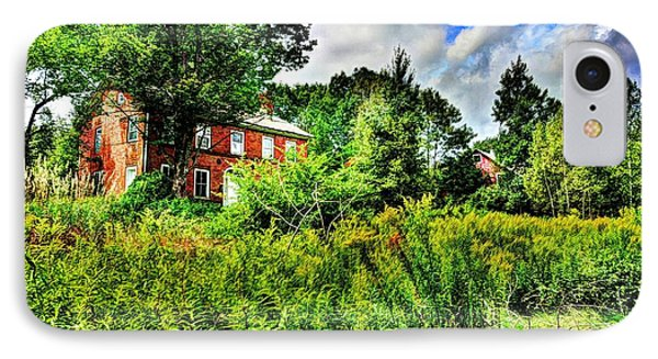 Plott Road Farmhouse IPhone Case by John Nielsen