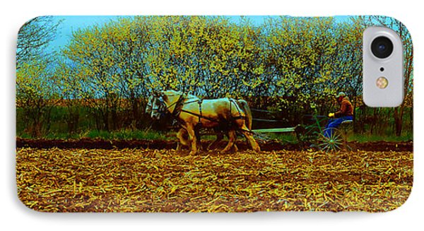 IPhone Case featuring the photograph Plow Days Freeport  Tom Jelen by Tom Jelen