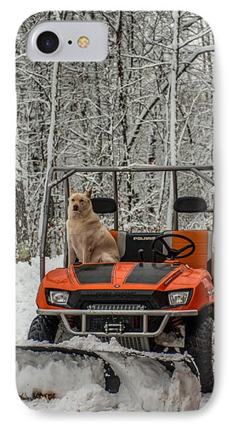 Plowing Companion IPhone Case