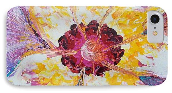 Plucking A Seven-petal Flower IPhone Case