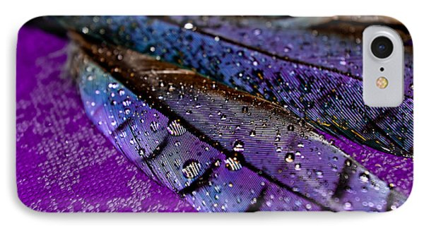 Plum Plumage IPhone Case by Adria Trail
