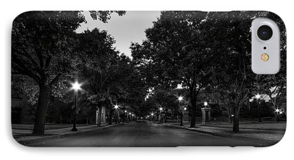 Plum Street To Franklin Square IPhone Case by Everet Regal