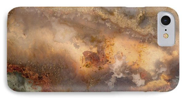 Plume Waves In Stone IPhone Case by Leland D Howard