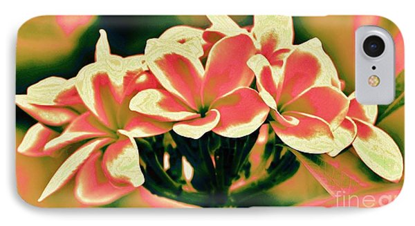 IPhone Case featuring the photograph Plumeria - A Different View by Craig Wood