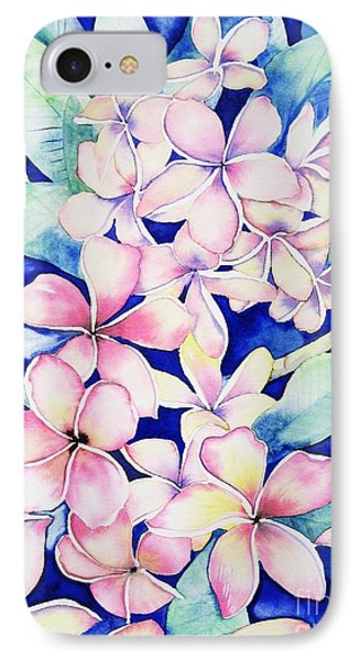 Plumerias Of Maui IPhone Case