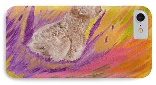 Plunge Into Your Painting IPhone Case by Meryl Goudey