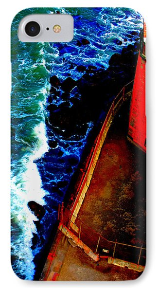 Plunging From Golden Gate Phone Case by Holly Blunkall