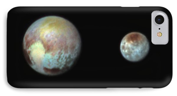 Pluto And Charon IPhone Case by Nasa/apl/swri