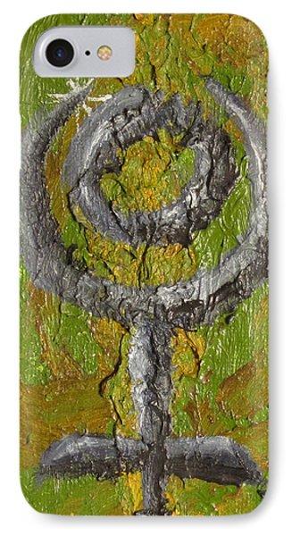 Pluto Glyph Phone Case by Jeffrey Oleniacz