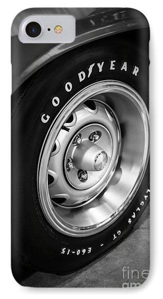 Plymouth Cuda Rallye Wheel Phone Case by Paul Velgos