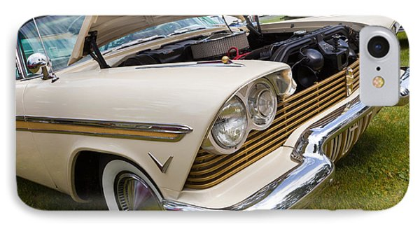 Plymouth Fury Cream IPhone Case by Mick Flynn