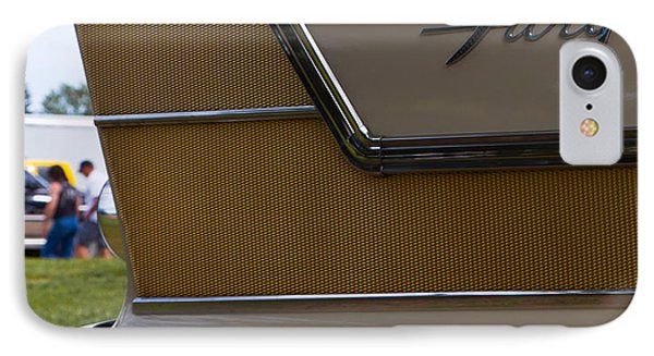 Plymouth Fury Tail Fin Detail IPhone Case by Mick Flynn