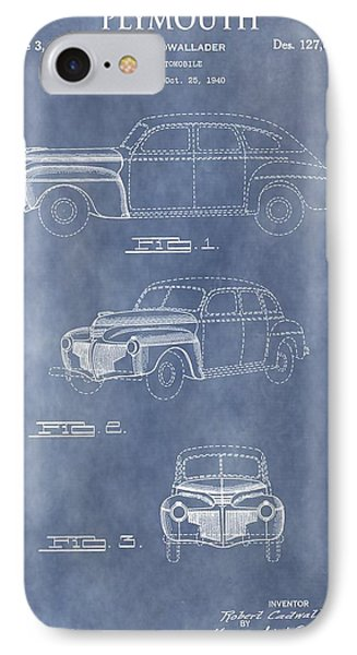 Plymouth Patent IPhone Case