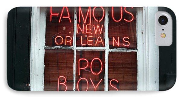 Po Boys Phone Case by John Rizzuto