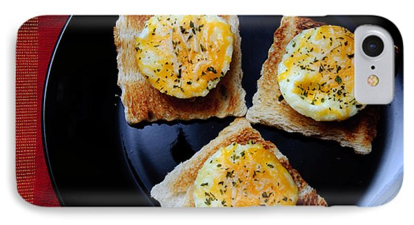 Poached Eggs On A Raft Phone Case by Andee Design