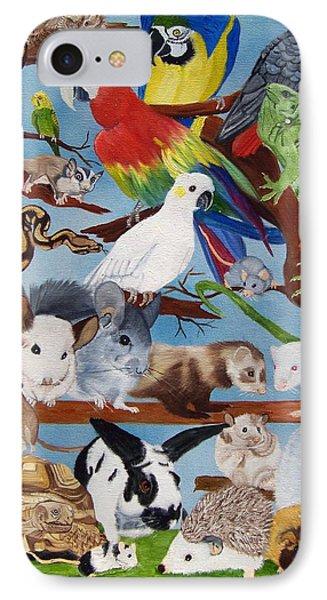 Pocket Pets Phone Case by Debbie LaFrance