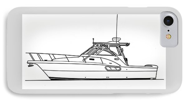 Pocket Yacht Profile Phone Case by Jack Pumphrey