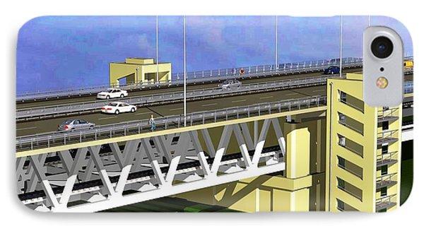 Podilsky Bridge IPhone Case by Oleg Zavarzin
