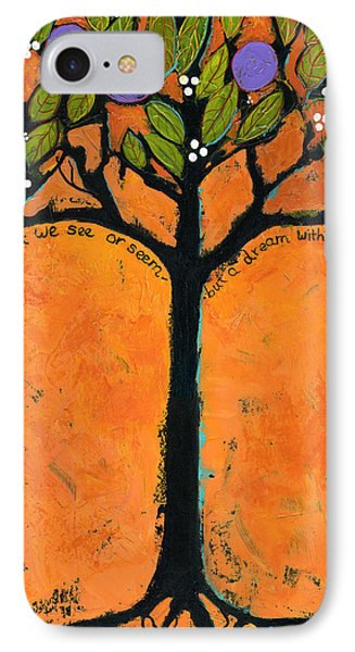 Poe Tree Art Phone Case by Blenda Studio