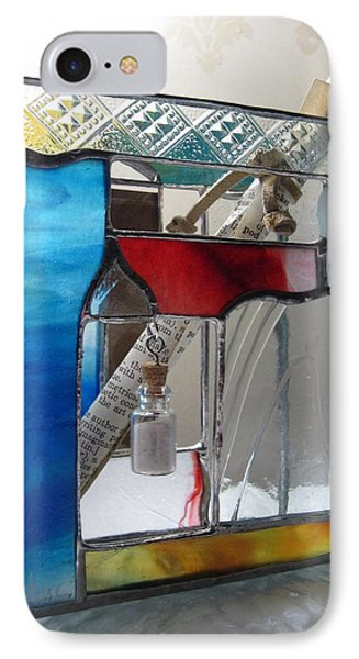 Poet Windowsill Box - Other View Phone Case by Karin Thue