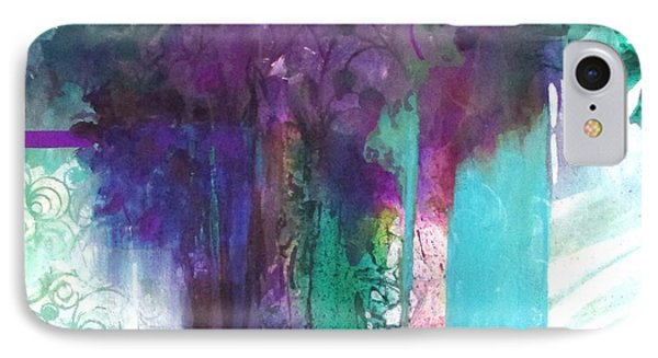 Poetry Is Painting Phone Case by Patricia Mayhew Hamm