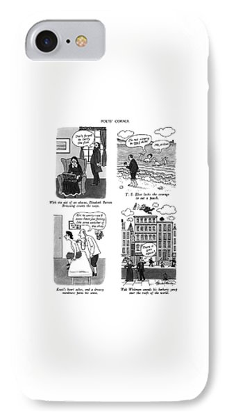 Poets' Corner IPhone Case by J.B. Handelsman