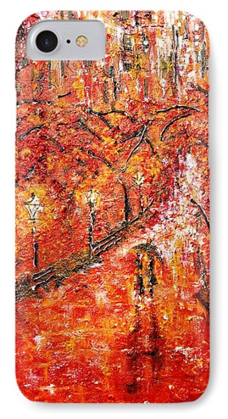 Poet's Walk  IPhone Case by Helen Kagan