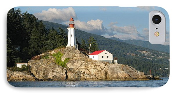 Point Atkinson Lighthouse IPhone Case by Brian Chase