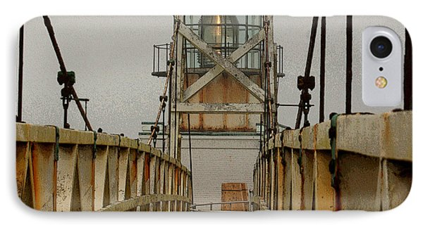 Point Bonita Lighthouse Phone Case by Art Block Collections