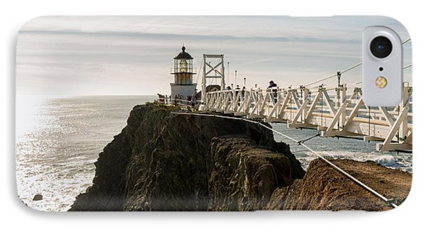 Point Bonita Lighthouse Phone Case by Georgia Fowler