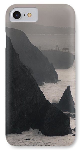 IPhone Case featuring the photograph Point Bonita Lighthouse by Scott Rackers