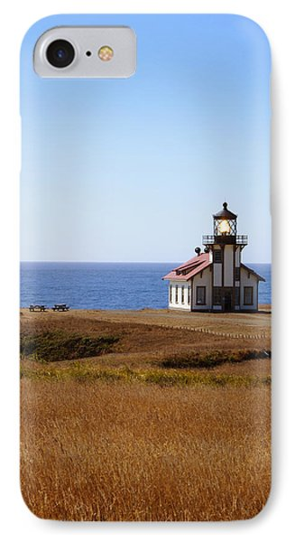 Point Cabrillo Light House Phone Case by Abram House