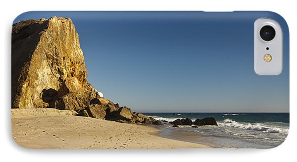 Point Dume At Zuma Beach Phone Case by Adam Romanowicz